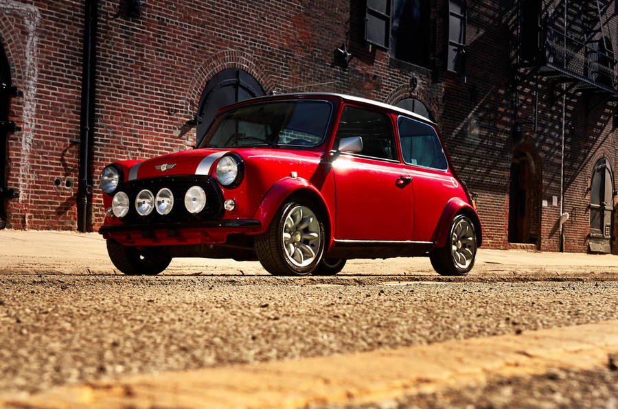 The Classic Mini Has Had an All-Electric Overhaul