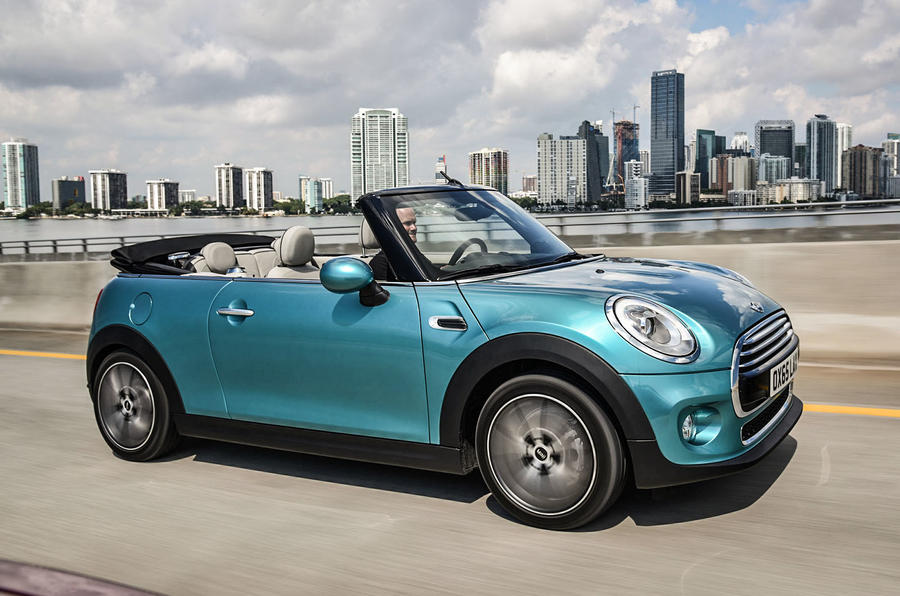 2016 Mini Convertible Makes Its Debut At Tokyo Show Autocar