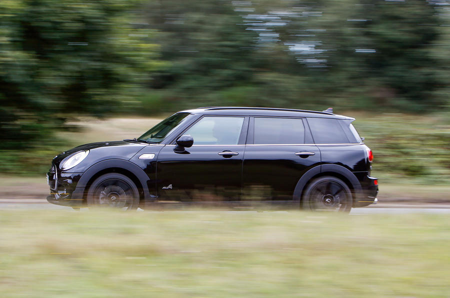 Mini Cooper S All4 Clubman side profile