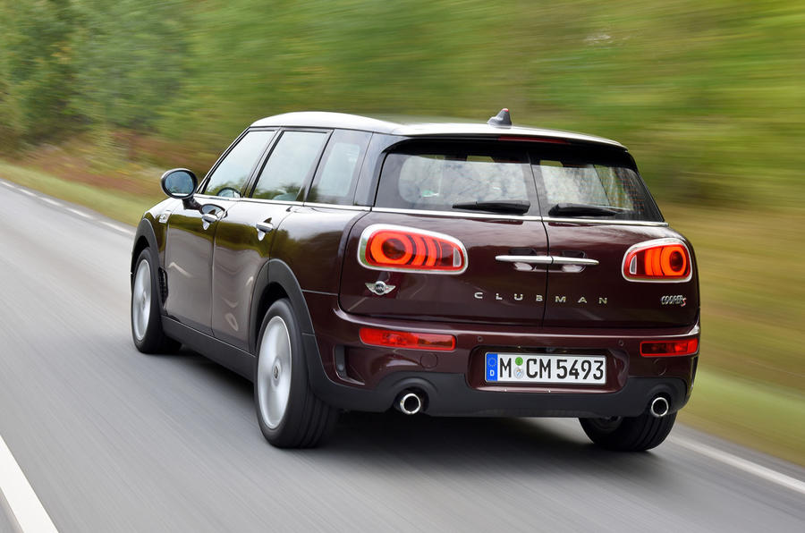 Mini Clubman Cooper S rear