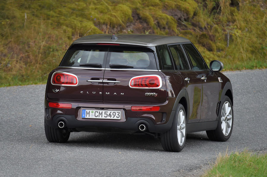 Mini Clubman Cooper S rear cornering