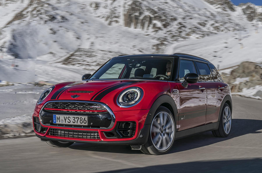 2016 mini clubman john cooper works review review autocar. Black Bedroom Furniture Sets. Home Design Ideas