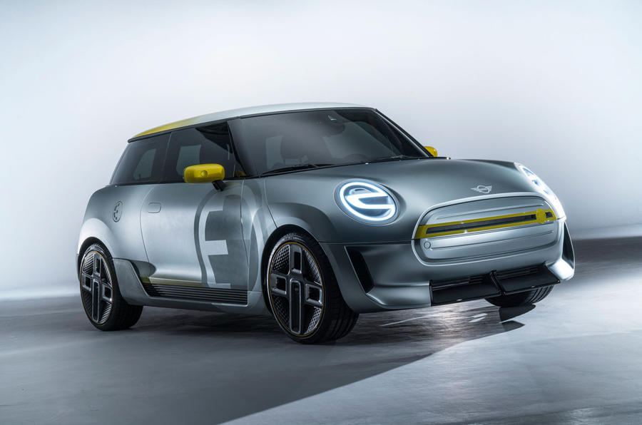 mini unveils concept of first full production electric car autocar. Black Bedroom Furniture Sets. Home Design Ideas