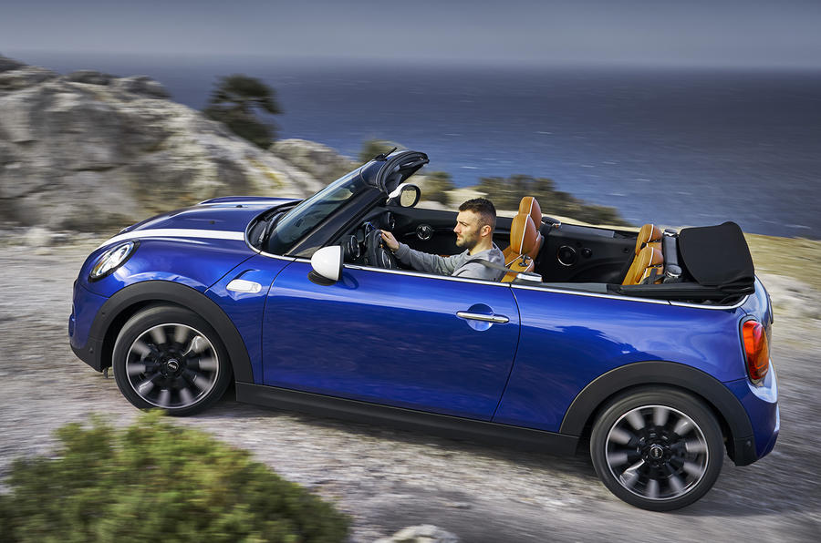 Mini Cooper S Convertible 2018 review left side
