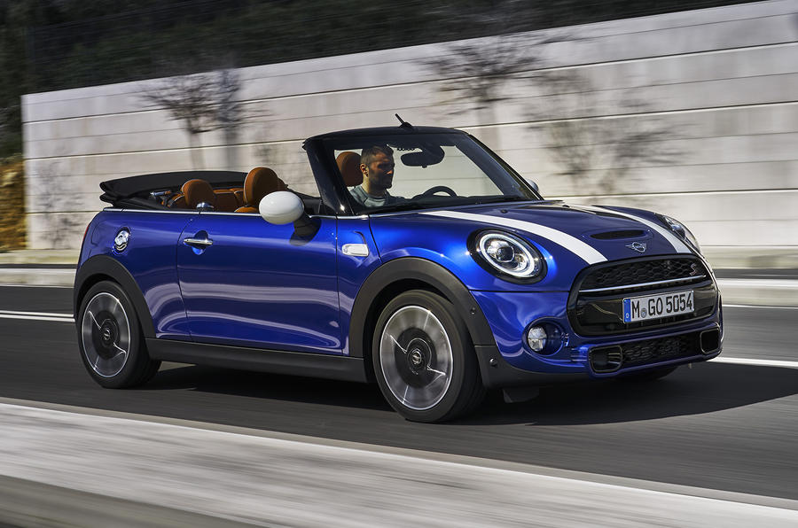 mini cooper s convertible 2018 review autocar. Black Bedroom Furniture Sets. Home Design Ideas