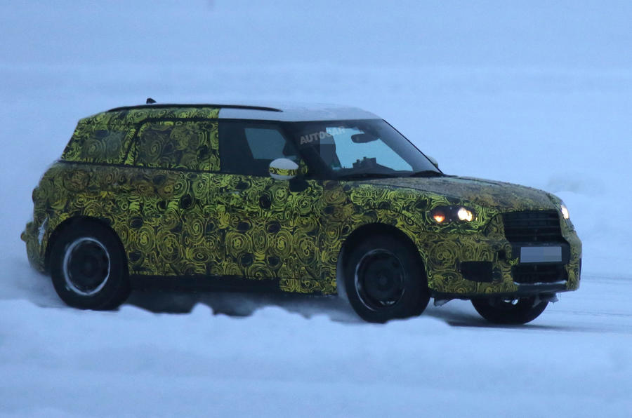 Mini Countryman spied