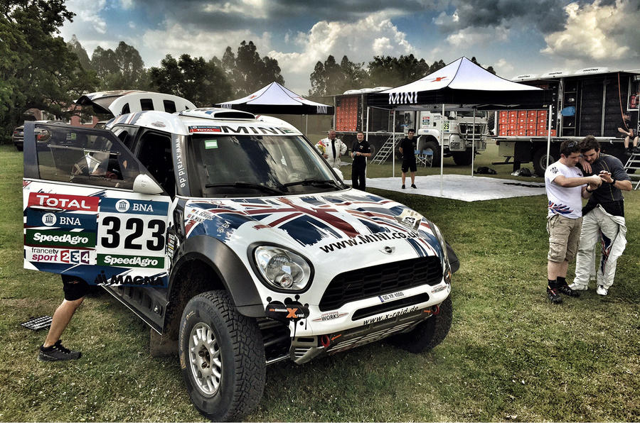 Mini ALL4 Racing