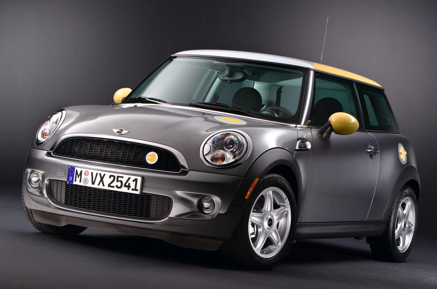 Mini E test car