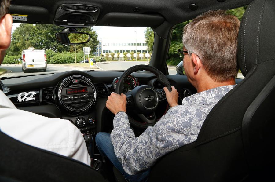 Driving the Mini JCW Challenge