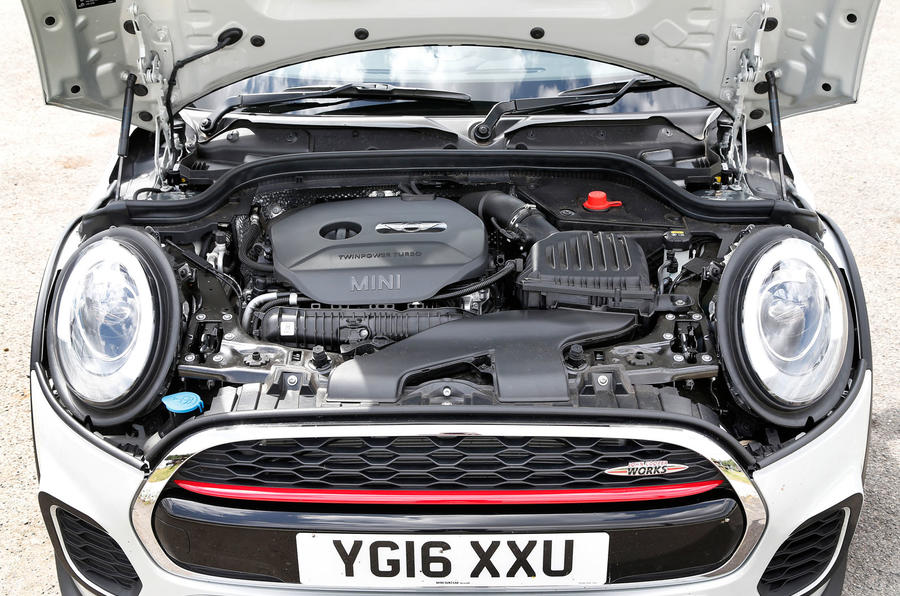 2.0-litre Mini JCW petrol engine
