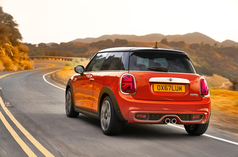 The updated 2019 Mini Cooper is now slightly British-er