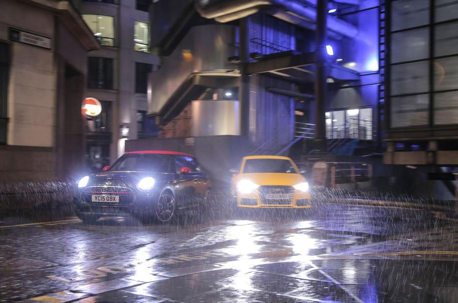 Mini John Cooper Works Versus Audi S1 Comparison Autocar