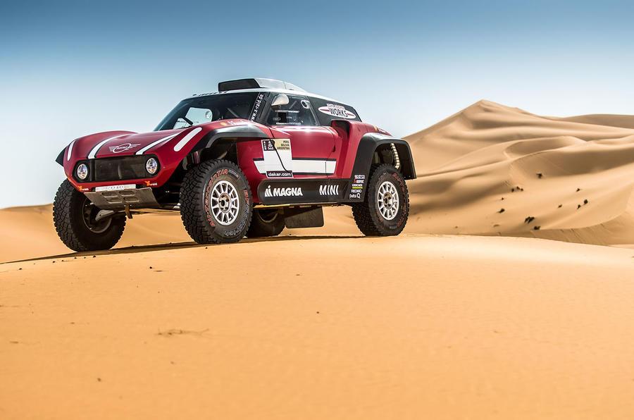 Mini John Cooper Works Buggy targets 2018 Dakar Rally win