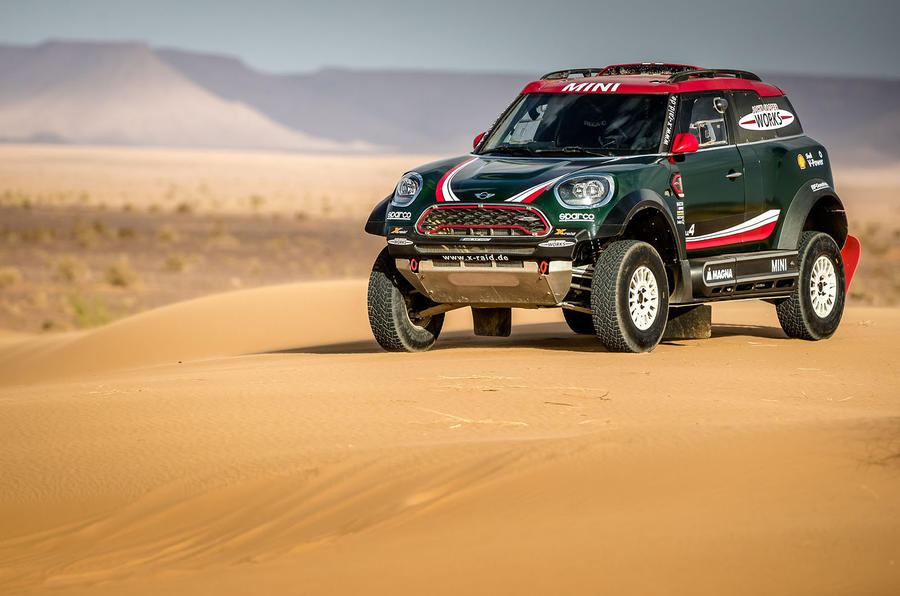Mini John Cooper Works Buggy targets 2018 Dakar Rally win