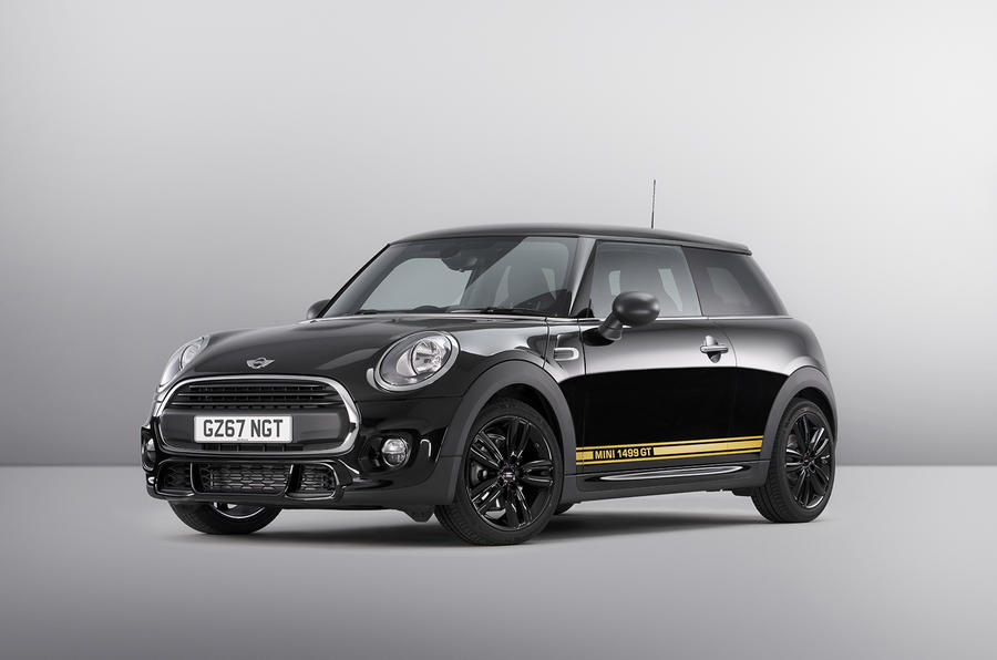 The new Mini 1499 GT makes sporty style accessible