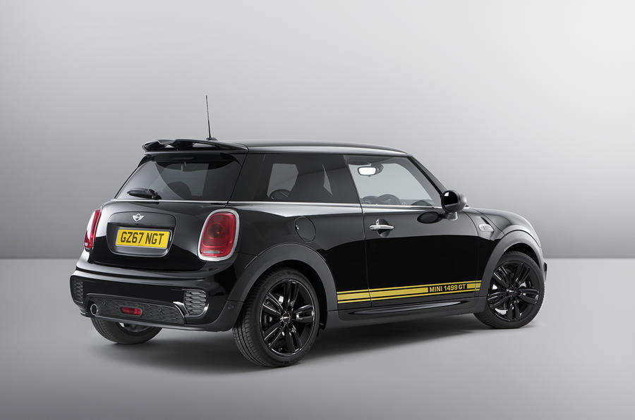 MINI introduces special edition 1499 GT model
