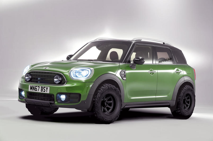 Off-roading Mini Countryman