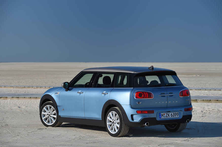 Mini Clubman SD All4 rear