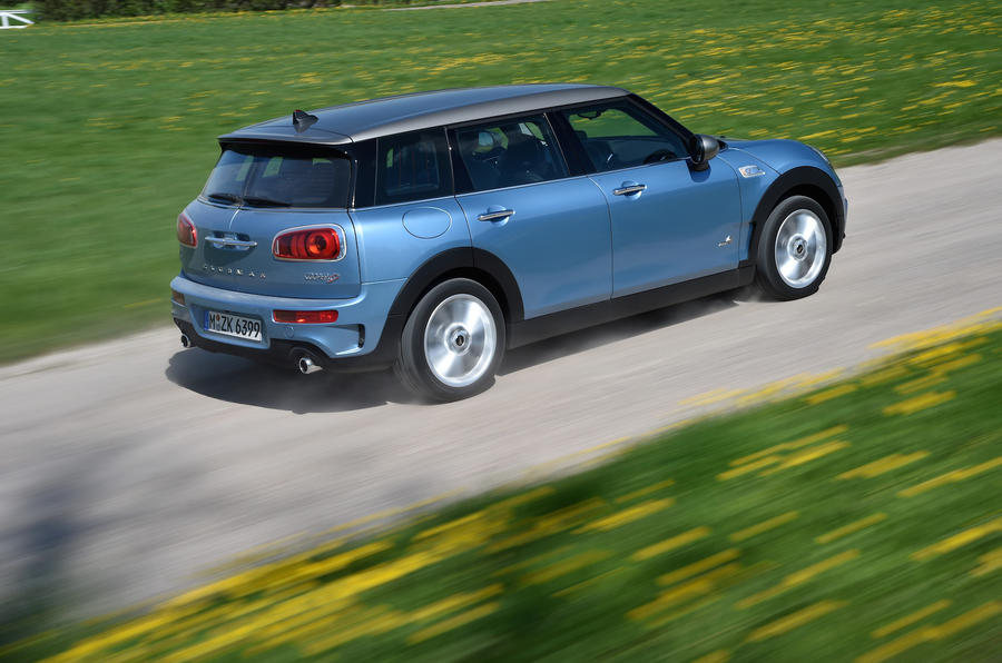 138mph Mini Clubman SD All4