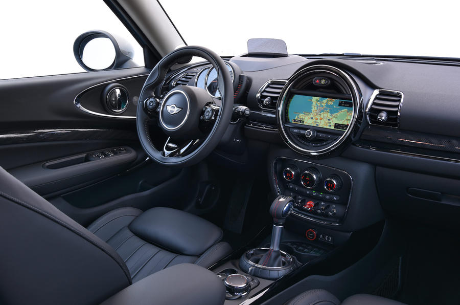 Mini Clubman SD All4 dashboard