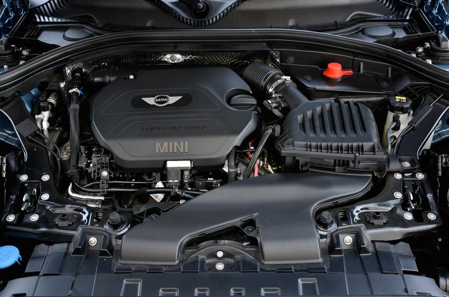 2.0-litre Mini Clubman SD diesel engine