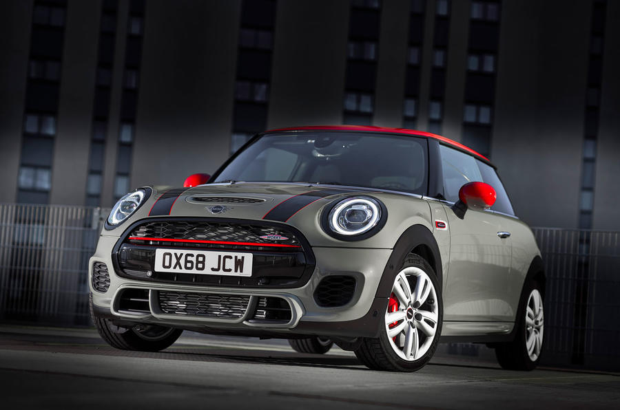 Mini Reveals Facelifted John Cooper Works Hatchback And Convertible