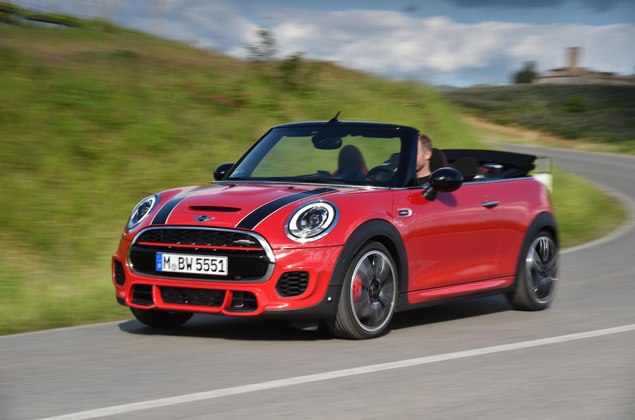 2016 Mini John Cooper Works Convertible Review Review Autocar