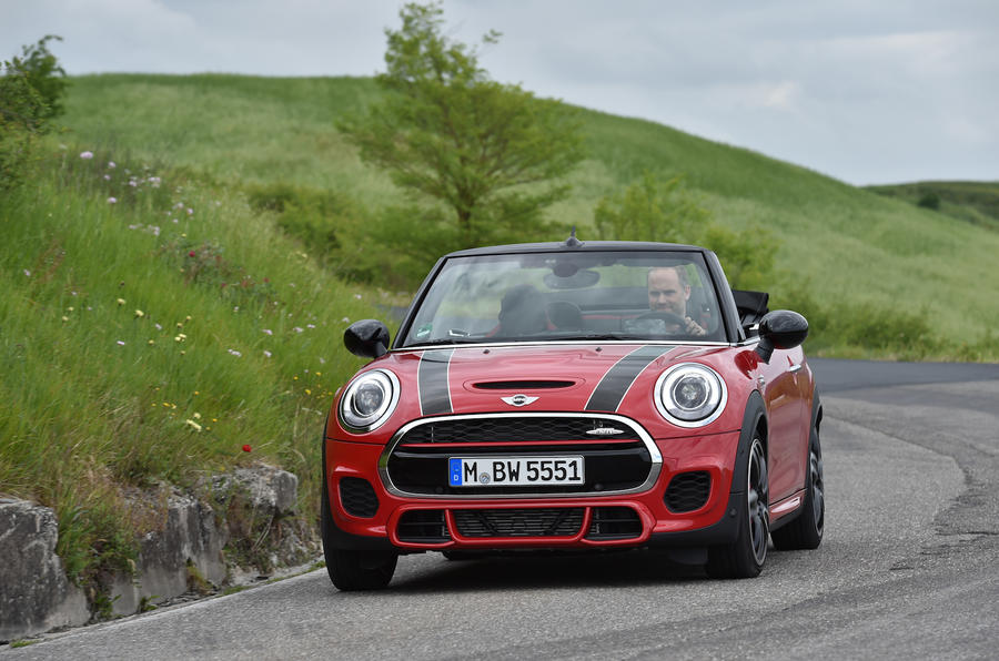 Mini JCW Convertible front