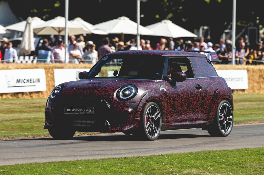 Mini JCW GP at Goodwood 2019 - front