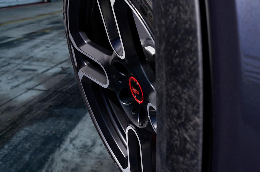 Mini John Cooper Works GP 2020 teaser - alloy wheels