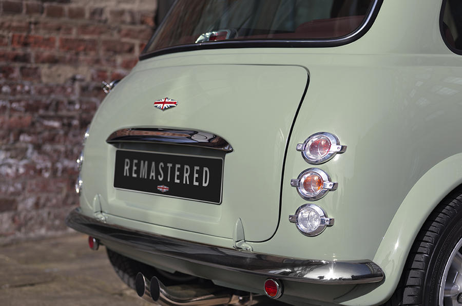Mini Remastered revealed by David Brown Automotive