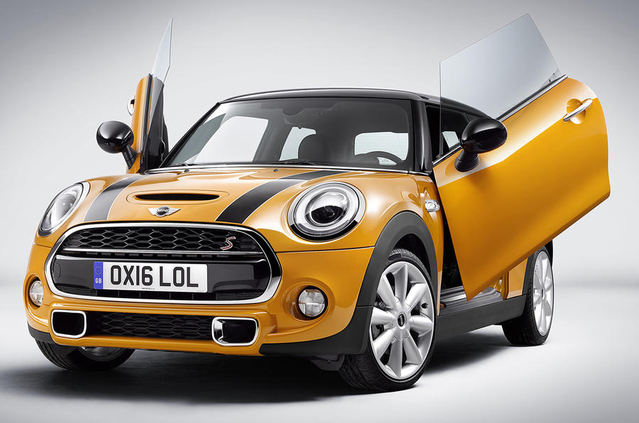Mini Hatch scissor doors