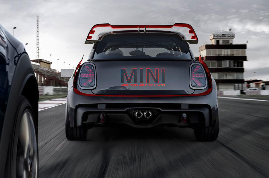 Minis 300bhp John Cooper Works Gp Spied For The First Time Autocar