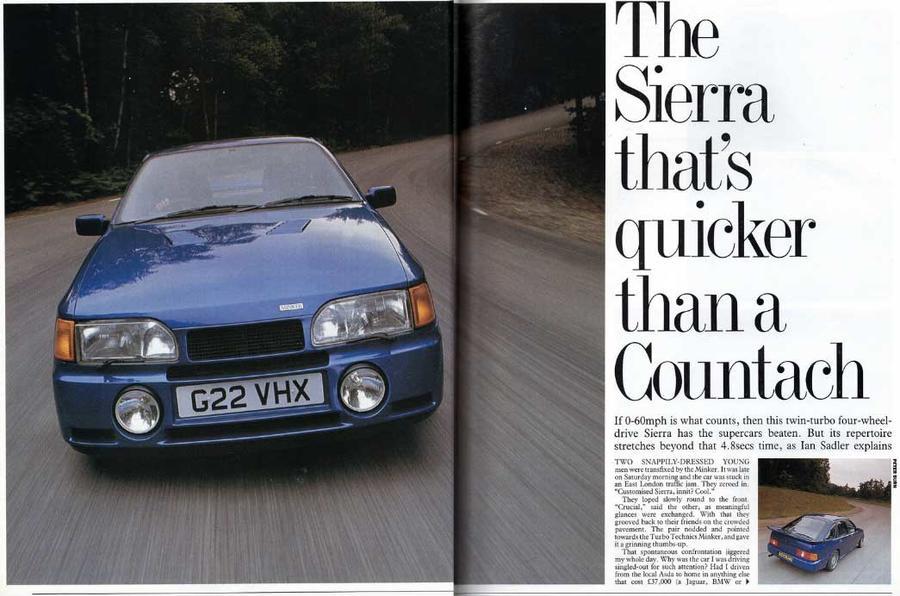 Ford Sierra Minker K1