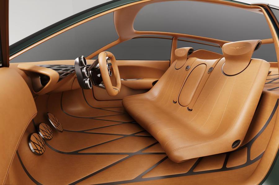 Hyundai Mint concept - front seats