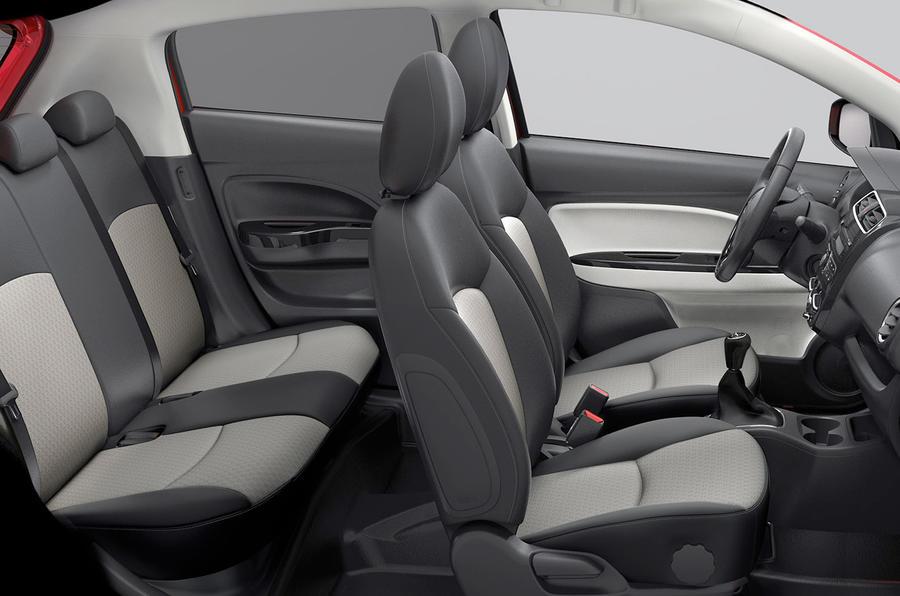 Mitsubishi Mirage facelift