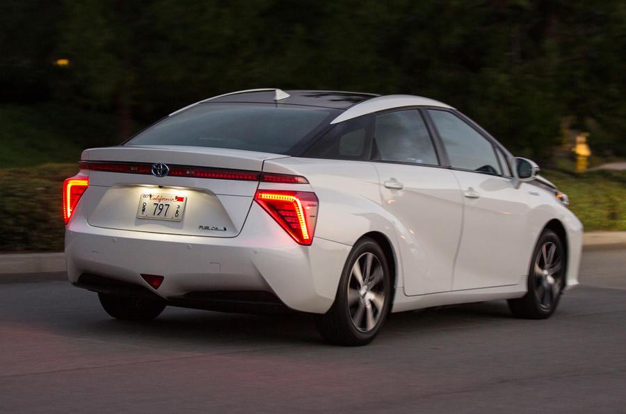 Toyota Mirai rear