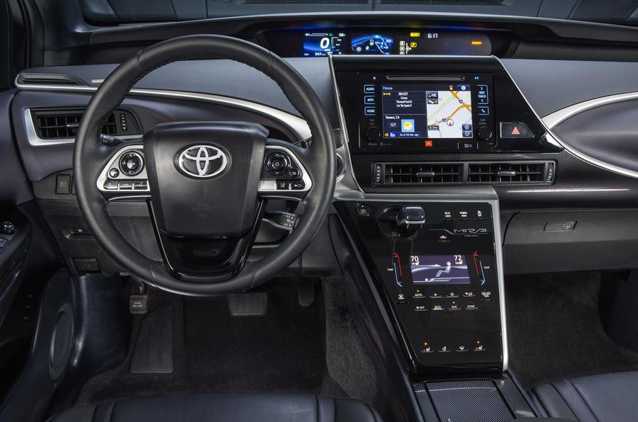 Toyota Mirai dashboard