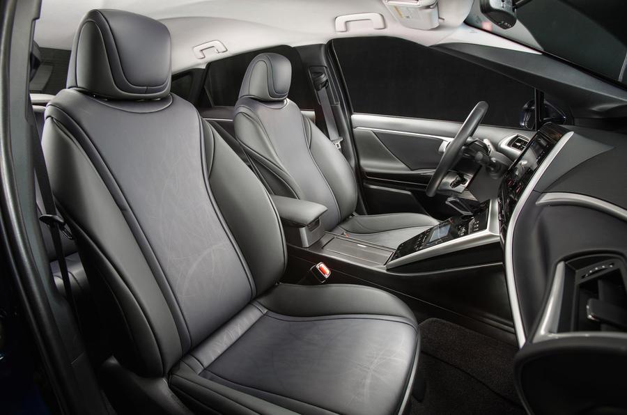 Toyota Mirai front seats