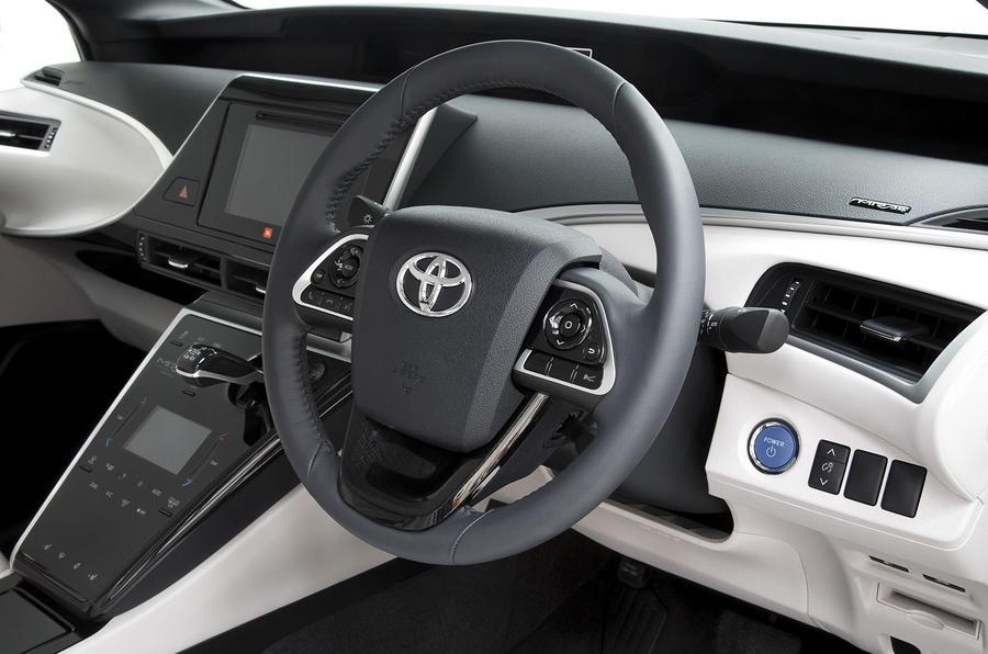 Toyota Mirai steering wheel