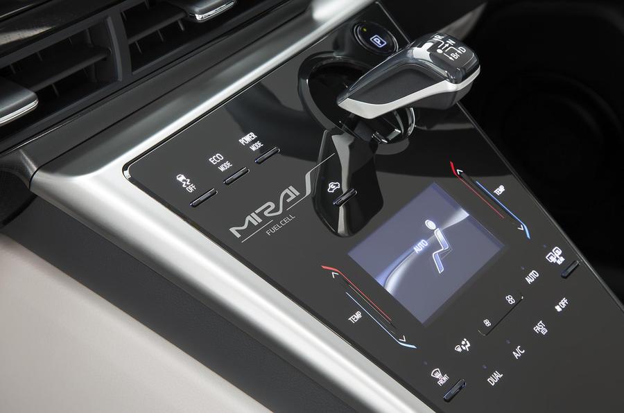 Toyota Mirai automatic gearbox