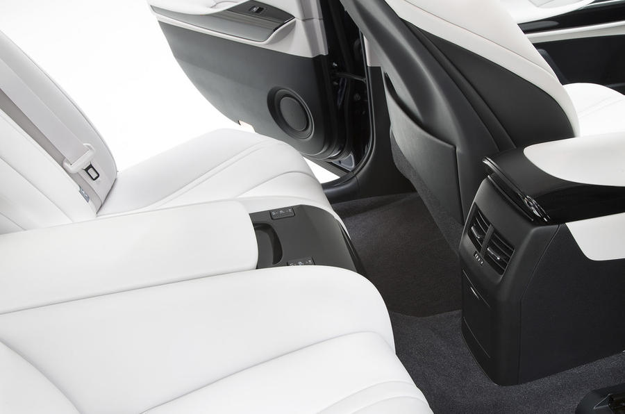 Toyota Mirai rear heated seats
