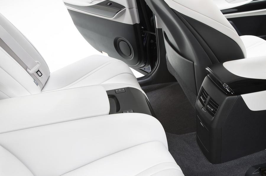 Toyota Mirai rear heated seats