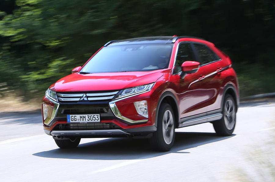 Mitsubishi Eclipse Cross hard cornering