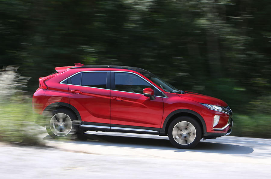 Mitsubishi Eclipse Cross side profile