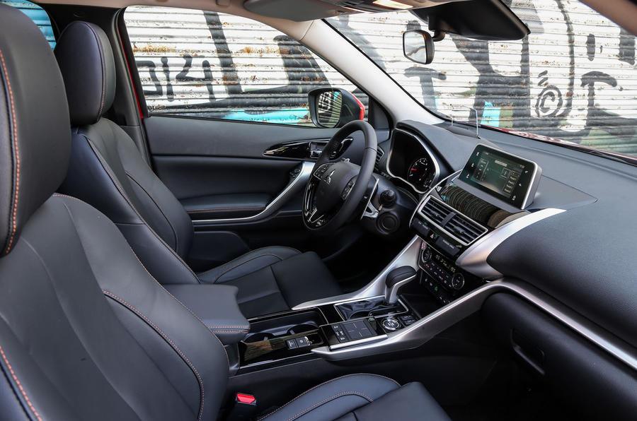Mitsubishi Eclipse Cross interior