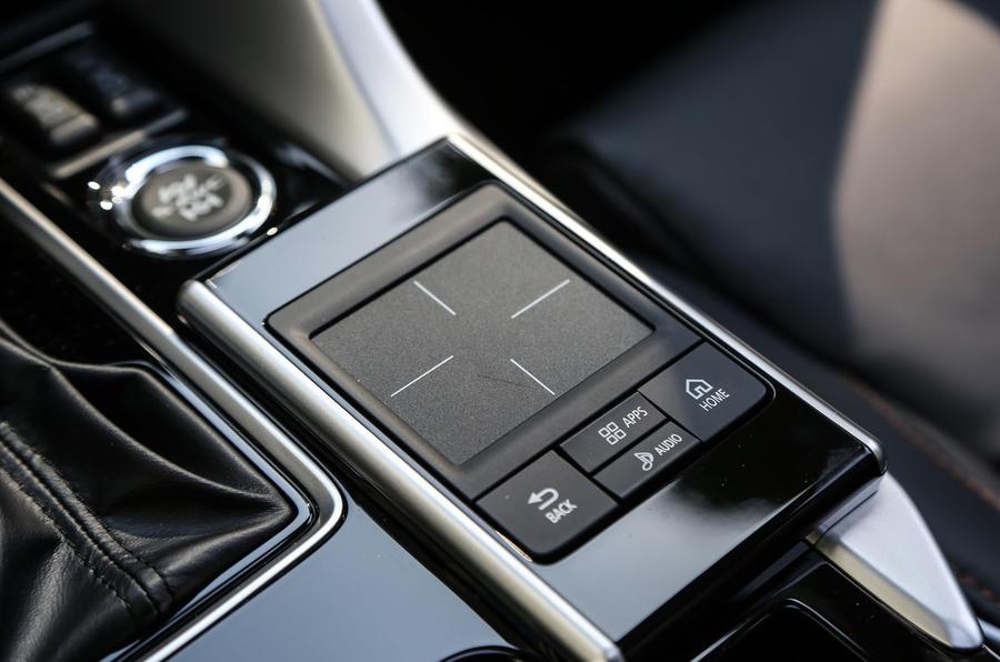 Mitsubishi Eclipse Cross infotainment controller