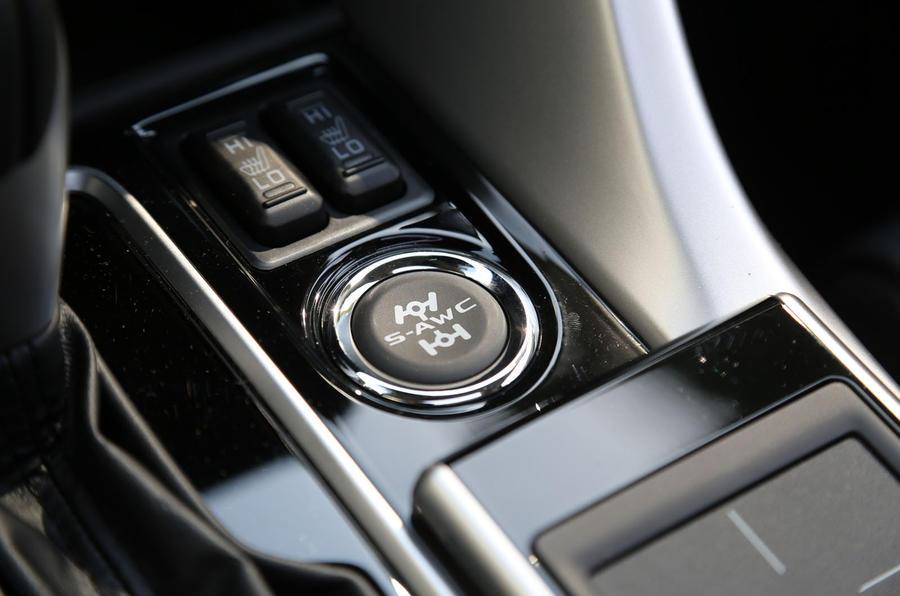 Mitsubishi Eclipse Cross keyless ignition