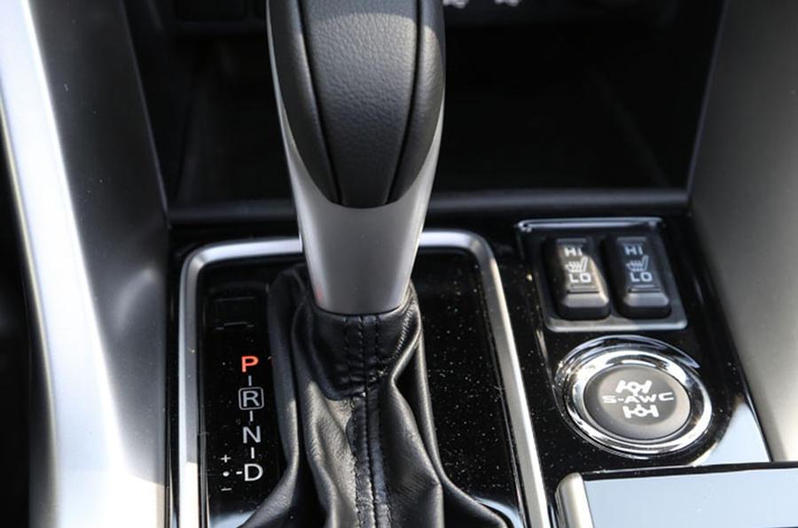 Mitsubishi Eclipse Cross automatic gearbox