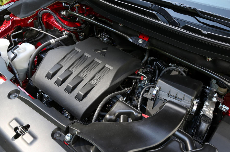 Mitsubishi Eclipse Cross engine bay